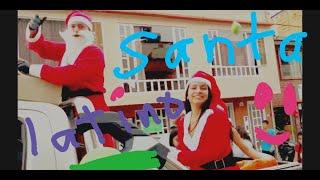 ¡QUE LOCURA!!!! Un día con Papa Noel //Santa Claus latino. Garagoa Colombia