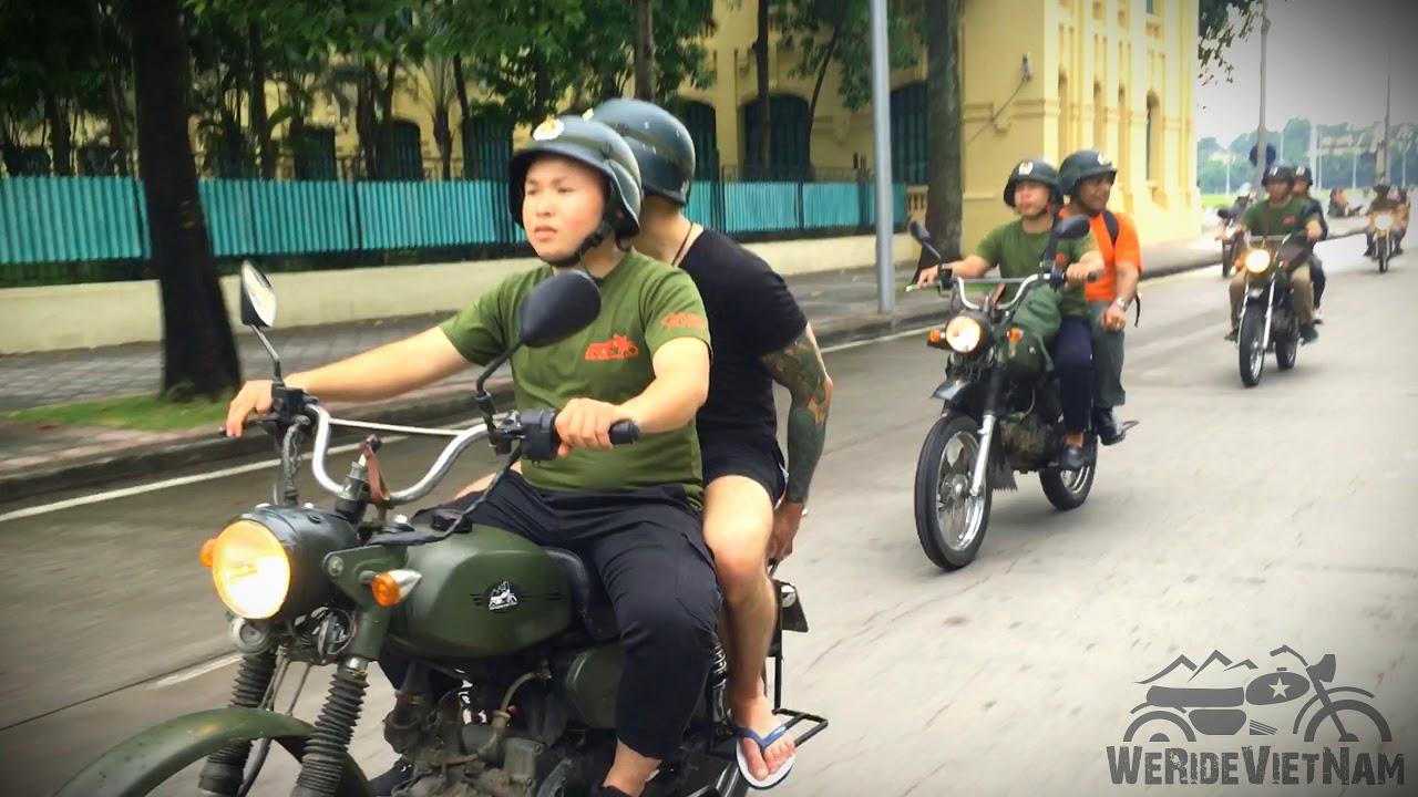 We Ride Vietnam Tours – A half day motorbike tour in Hanoi city