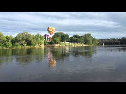 Lewiston -Auburn Maine Hot Air Balloon Festival 22 AUG 15