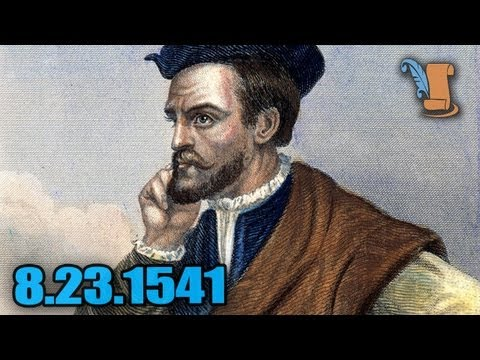 A Day In History: Jacques Cartier Settles In Canada