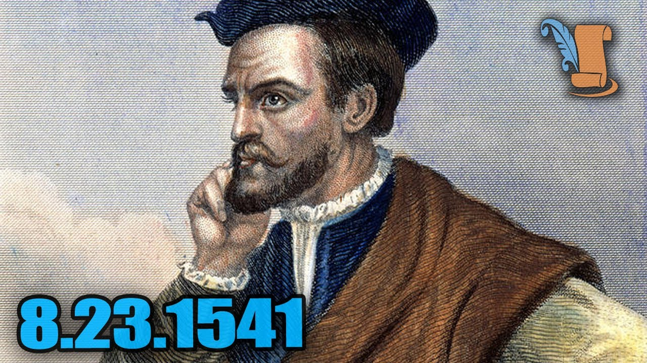 A Day In History: Jacques Cartier Settles In Canada - YouTube