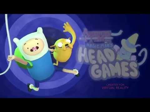 Adventure Time: Magic Man's Head Games Trailer