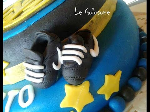 official photos 66a2b 08c9a Scarpe da calcio in pasta di zucchero - fondant soccer shoes - Cake Design