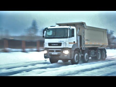 Тест драив КАМАЗ 5044. Четыре оси, 50 тонн и 440 л.с.