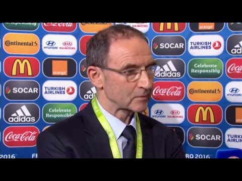 EURO 2016 Draw - Post Draw Interview - Martin O'Neill (12/12/15)