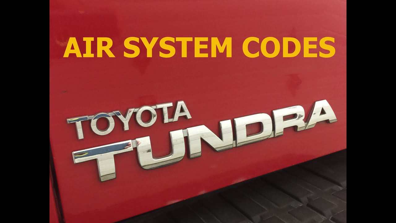 Toyota Tundra Air Injection Code P2440 P2441 P2442 P2443 Youtube 2014 Sequoia Wiring Diagram