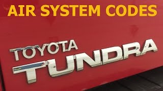 Toyota Tundra AIR Injection Code P2440, P2441, P2442, P2443(, 2015-03-28T05:36:18.000Z)