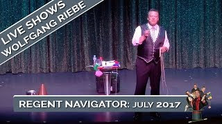 Regent Navigator: Wolfgang Riebe Comedy Magician Live: March 17