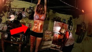 Top 5 Scariest Haunted Houses! (scariest Halloween Attractions)