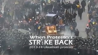 When protesters strike back: 2013-14 Ukrainian protests