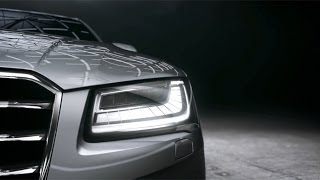 Audi A8 (2015) Matrix LED Headlights