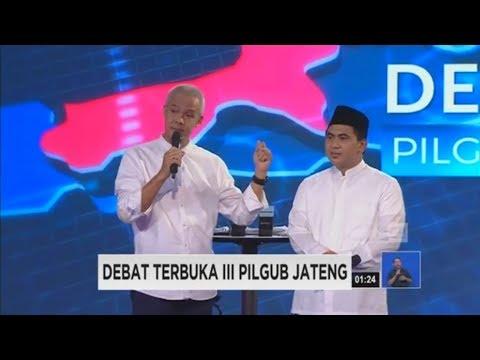 Debat Final Pilgub Jateng Segmen 3: Polemik Penambangan Kawasan Kendeng
