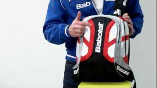 Tennis-Point.de - Babolat Backpack Club Line Red