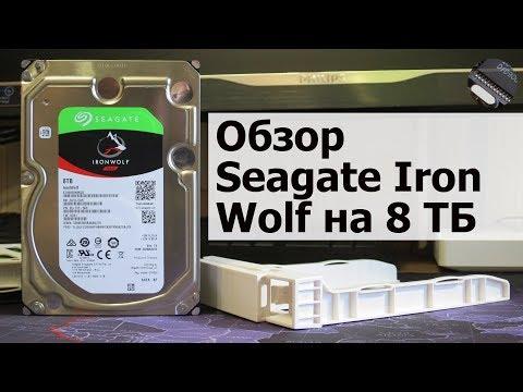 Что нам стоит RAID построить. 2X HDD Seagate Iron Wolf ST8000VN0022