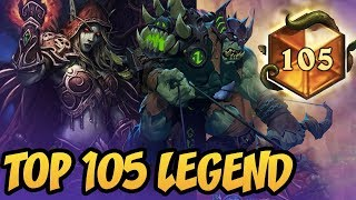 TOP 105 LEGEND | Rise of Shadows | Hearthstone