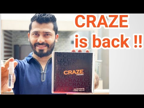 Armaf Craze And Craze Noir Review..Is 2019 Batch Reformulated??