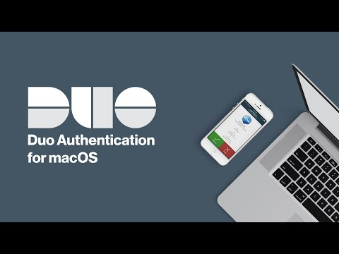 How To Install Duo Authentication For MacOS