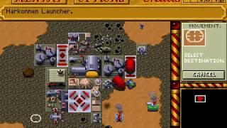 Dune II - Harkonnen mission 8 speedrun 22:46 (PC DOS)