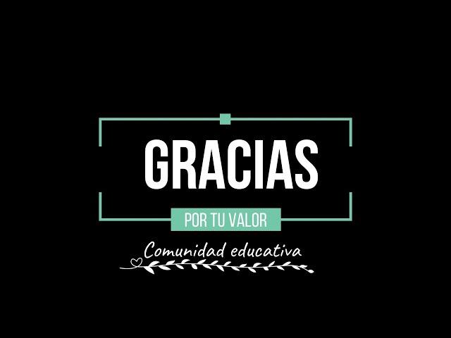 #GraciasXTuValor, profesional de la enseñanza