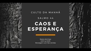 IP Central de Itapeva -  Culto Domingo Manhã - 10/01/2021