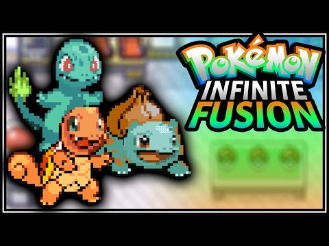 POKEMON INFINITE FUSION #1 [Pokemon Fan Game/Stream Footage] (BrettUltimus)
