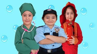 Elif Öykü Teaches Professions for Kids with A Fun Pretend Play Story