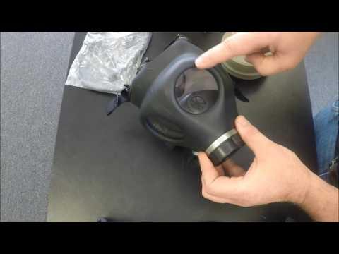 Israeli Children's Gas Mask Unbox