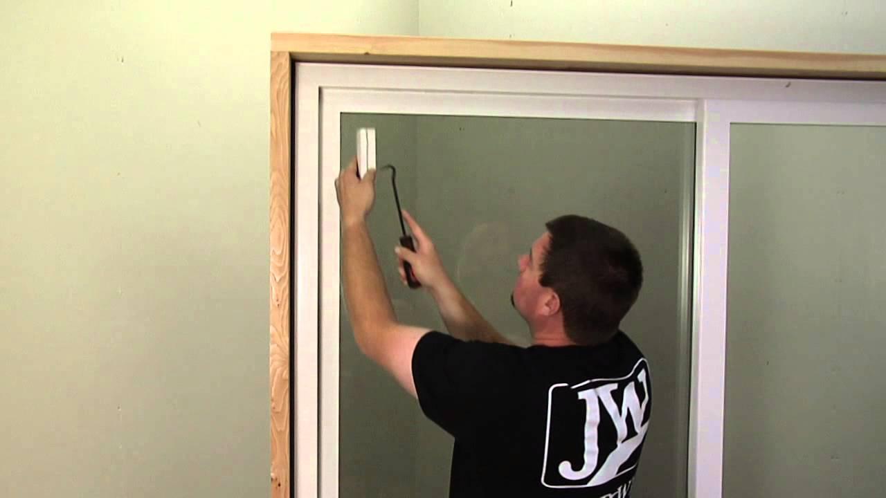 How To Replace The Bumper On A Premium Vinyl Patio Door Youtube