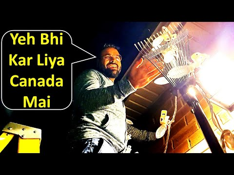 How We Decorated Our New House In Canada? | Diwali Decoratio