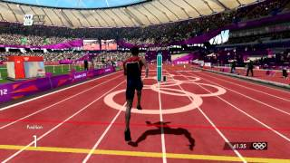 London 2012 Video Game: 400m World Record!(I just broke Michael Johnson's 43.18 World Record on 400m with Kirani James on 400m track. [42.94]! Hope you enjoyed, and subscribe please for more sports ..., 2012-08-20T18:39:57.000Z)