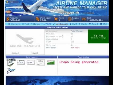 How to make money in Airline Manager facebook