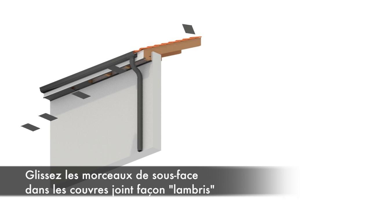 Sous Face Aluminium 2 Mètres Blanc