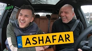 Ashafar - Bij Andy in de auto! (English subtitles)
