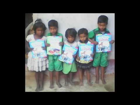 A help for the Poor Children|| Distributing Books ||colors|| general Knowledge Books