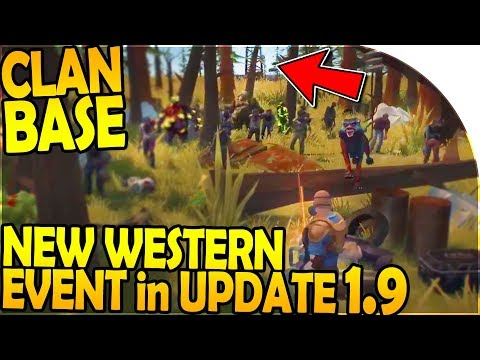 CLAN BASE FIRST LOOK + NEW WESTERN EVENT in UPDATE 1.9 - Last Day On Earth Survival Update 1.8.1