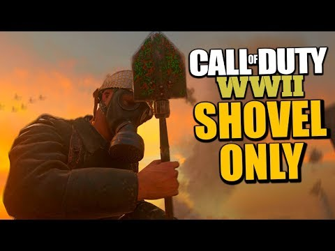 COD WW2 - Crispy Challenges #72 (WINNING WITH SHOVEL ONLY)