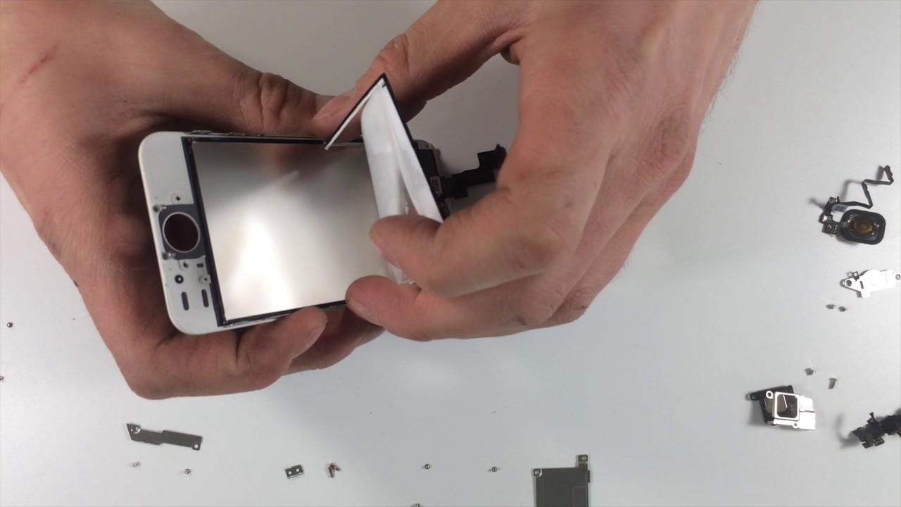 замена подсветки iphone se