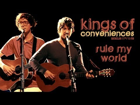 Kings Of Convenience - Rule My World (live At Le Bataclan)