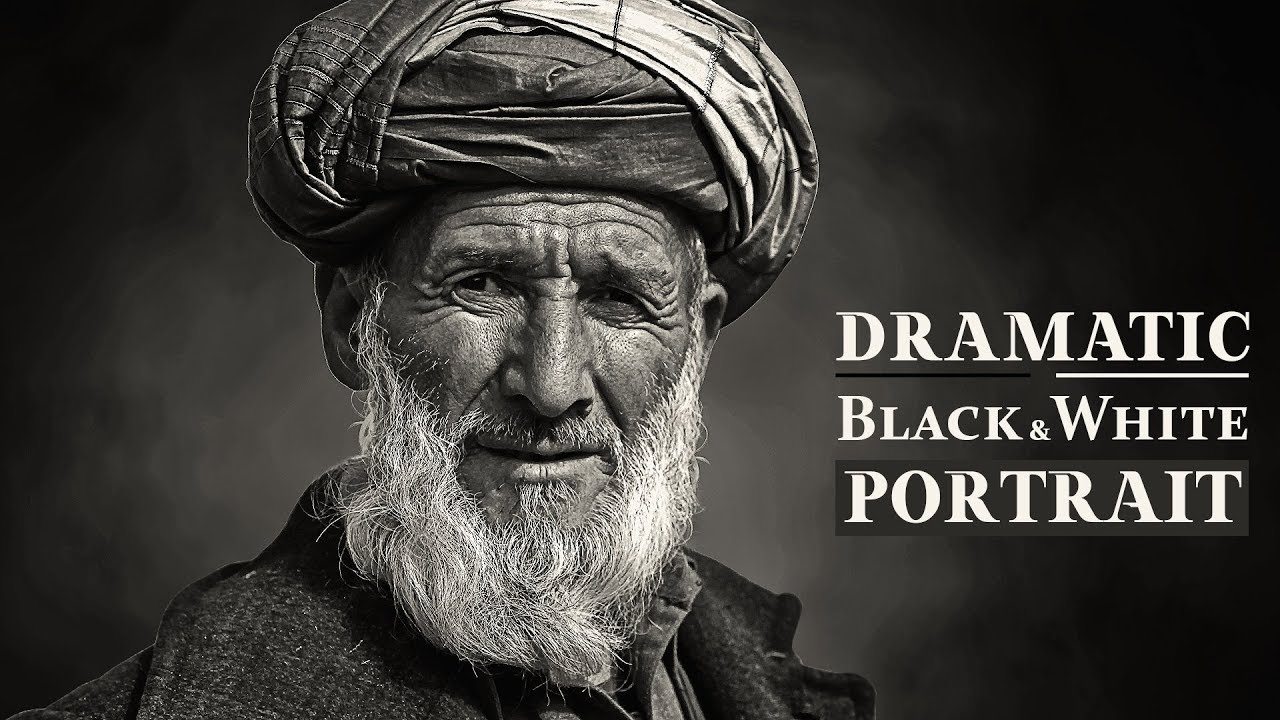 Dramatic black and white portrait photoshop tutorial darkness dramatic black and white portrait photoshop tutorial darkness photo effects baditri Images