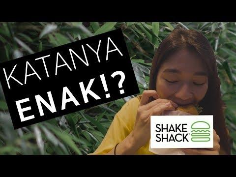 [VLOG] SHAKE SHACK - KATANYA ENAK!?