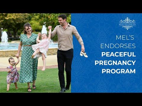 Mel Taylor Endorses Peaceful Pregnancy Program
