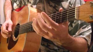Original Blues Acoustic Guitar Solo by BobbyCrispy - In G Tuning