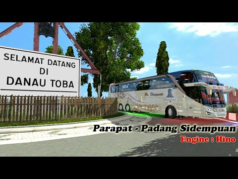Ets2 bus Indo || Haryanto Parwis ke Sumatra
