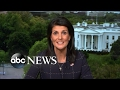 Nikki Haley reacts to French election results