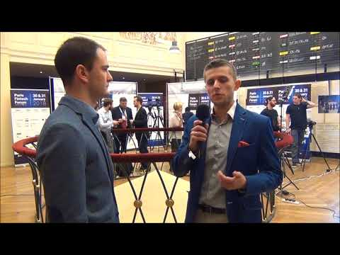 Paris Fintech Forum 2018 - Interview de Piotr STANIO, Start-up : Crypto Voucher