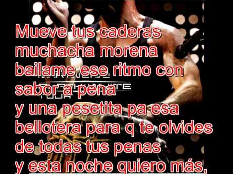 Ricky MartinPegate con letra