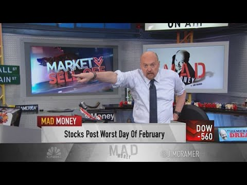 Jim Cramer explains why the bond market is causing a market sell-off
