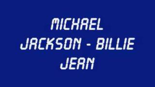 michael jackson billie jean with lyrics hq sound