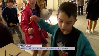 Rambouillet : Une école de sorciers à la Bergerie nationale