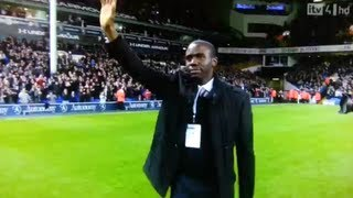 Fabrice Muamba Returns To White Hart Lane Where He Collapsed - The Return